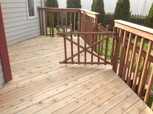 Deck cleaning and restoration new york